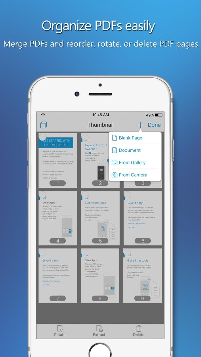 Foxit PDF Reader & Converter Screenshot