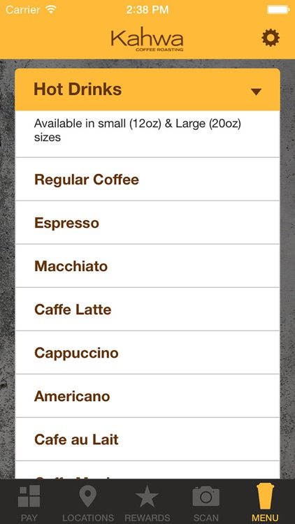 Kahwa Coffee screenshot-3