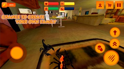 scorpion home pet simulator 3d by mikhail grechishnikov