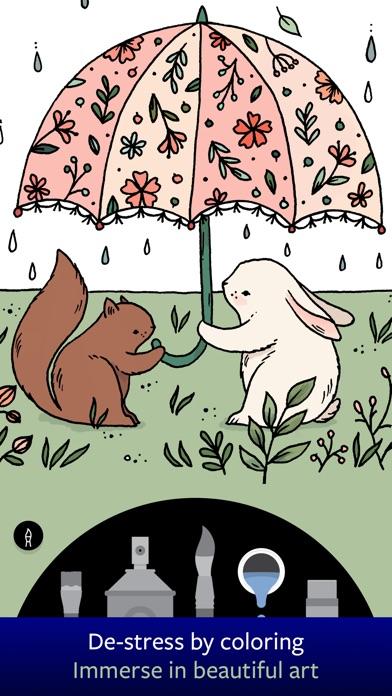 Lake: Artists' Coloring Books app image