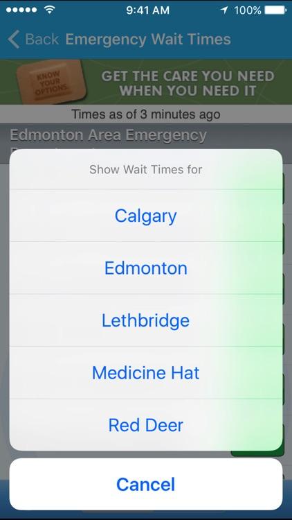 Alberta Health Services screenshot-4