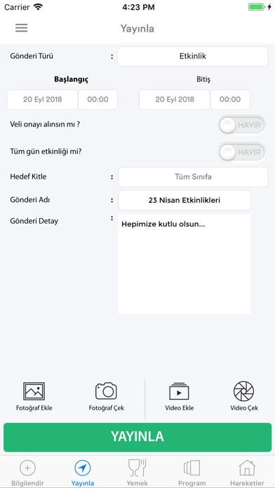 Fatih Yıldız Yolu Kreş ve GBE screenshot two