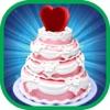 Heart Wedding Cake Cooking