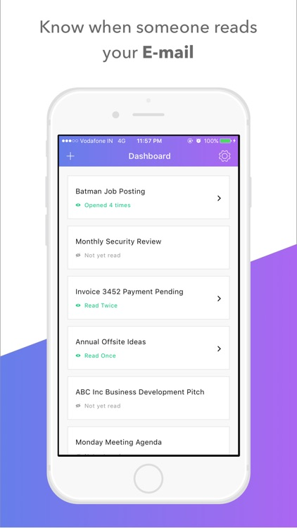 Mail Tracker - Email Tracking by Vaibhav Narula