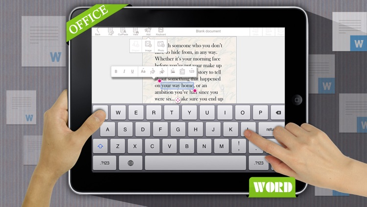 Quick Write Office - for Microsoft Office Document screenshot-3