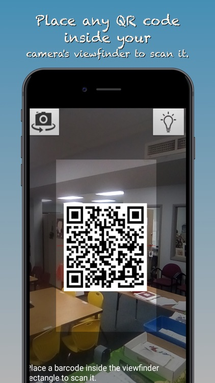 LocalBeacons - Simple QR Code Scanning