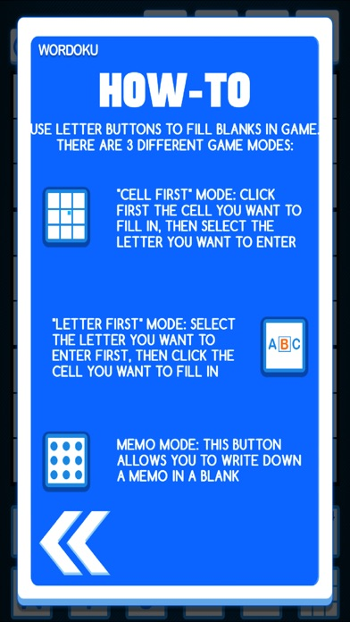 Wordoku ® screenshot 3