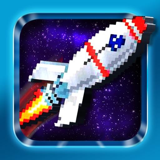 Rocket Pixel - Color by Number