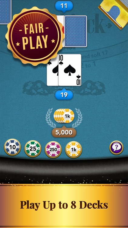 Blackjack: Casino Card Game screenshot-7