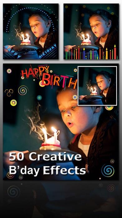 Birthday Frame Greetingsのおすすめ画像2