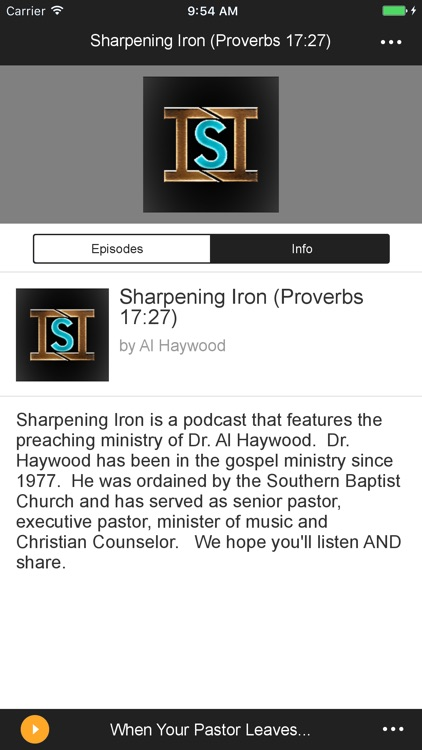 Sharpening Iron by Spreaker