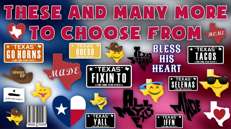Texas Emoji - Texan Stickers screenshot-3