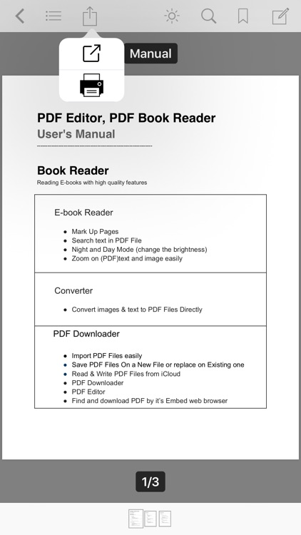 PDF Editor ,PDF Book Reader screenshot-8