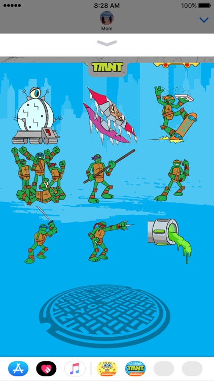 TMNT Stickers for iMessage