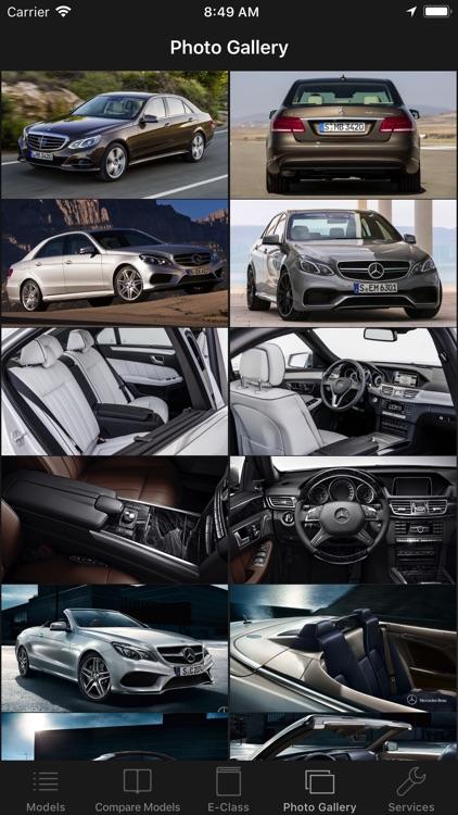 CarSpecs MBZ E-Class 2013 screenshot-3