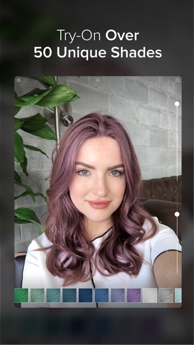 Hair Color Screenshot