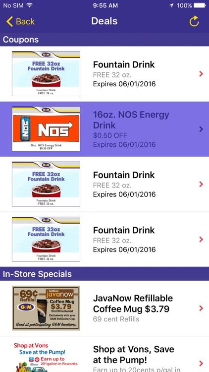 G&M Oil Station Finder screenshot-3