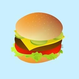 Heavenly Hamburger Stickers