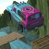 classic car stunt