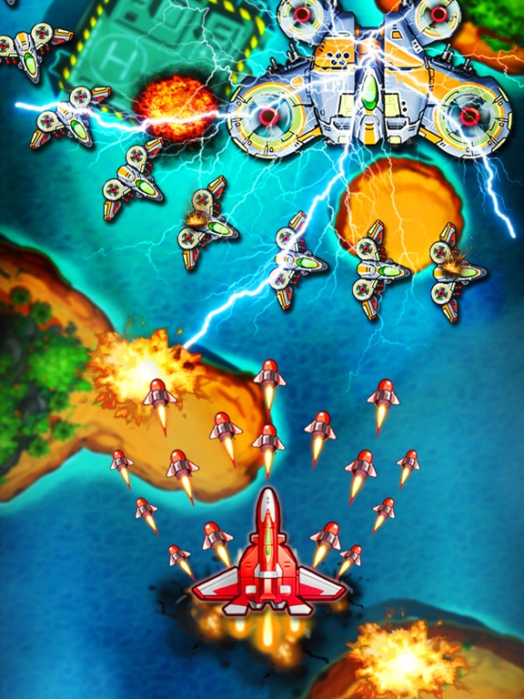 Image of Space X: Sky War of Air Force for iPad