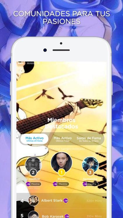 Amino para Música Anime screenshot-4