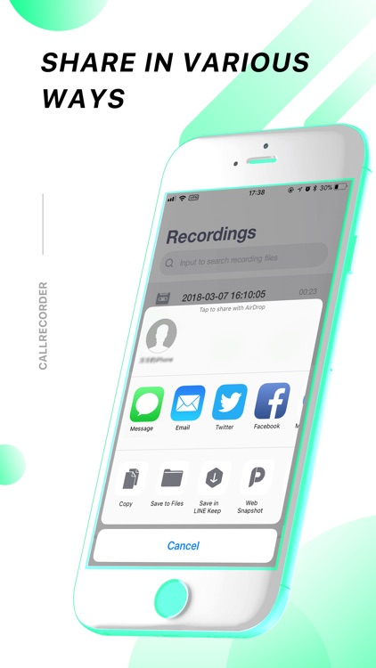 call recorder for iphone call recorder for iphone calls by kun wang 7073
