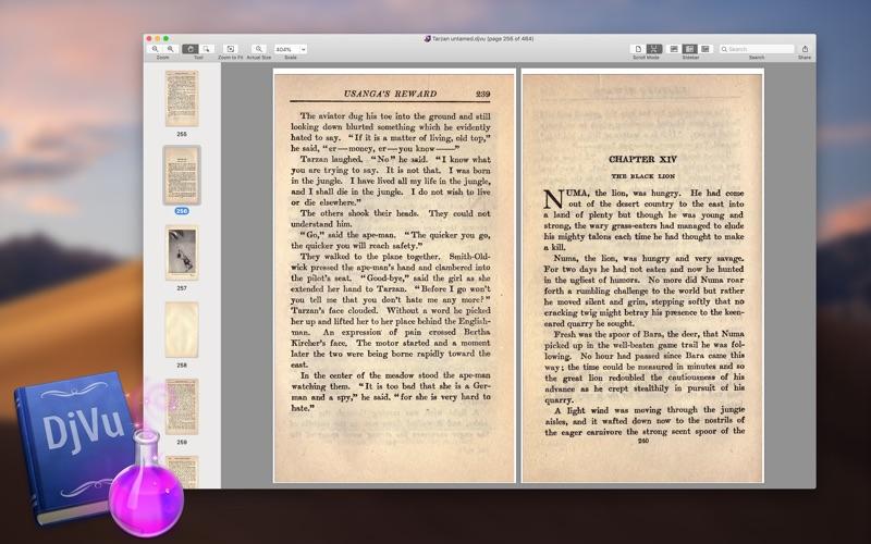 DjVuReader Ex Screenshots