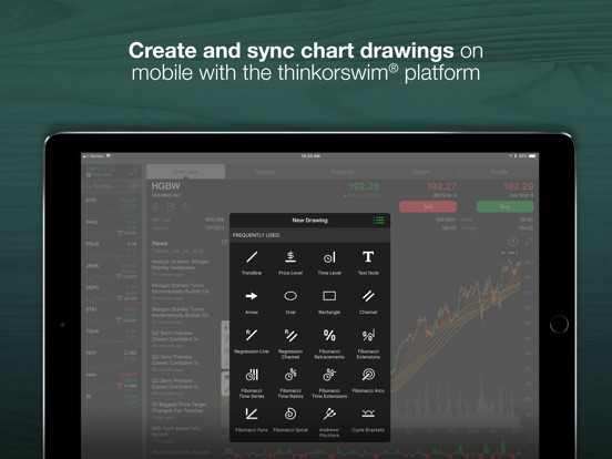Thinkorswim refresh rate
