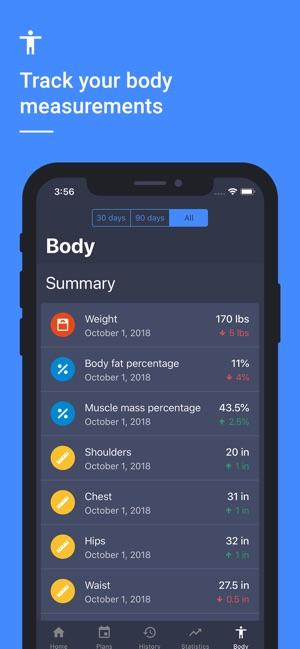 Daily Strength Workout Planner Screenshot