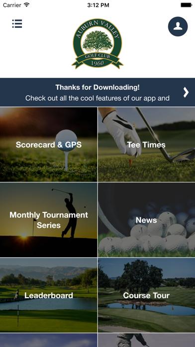 Auburn Valley Golf Club screenshot 2