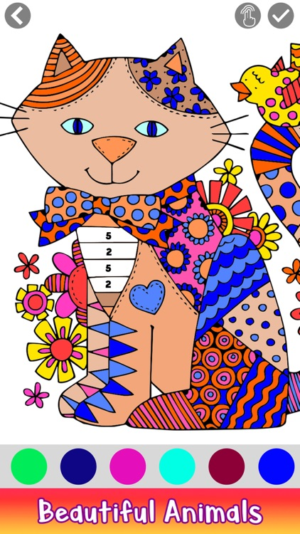 Adult Coloring by Number Book screenshot-9