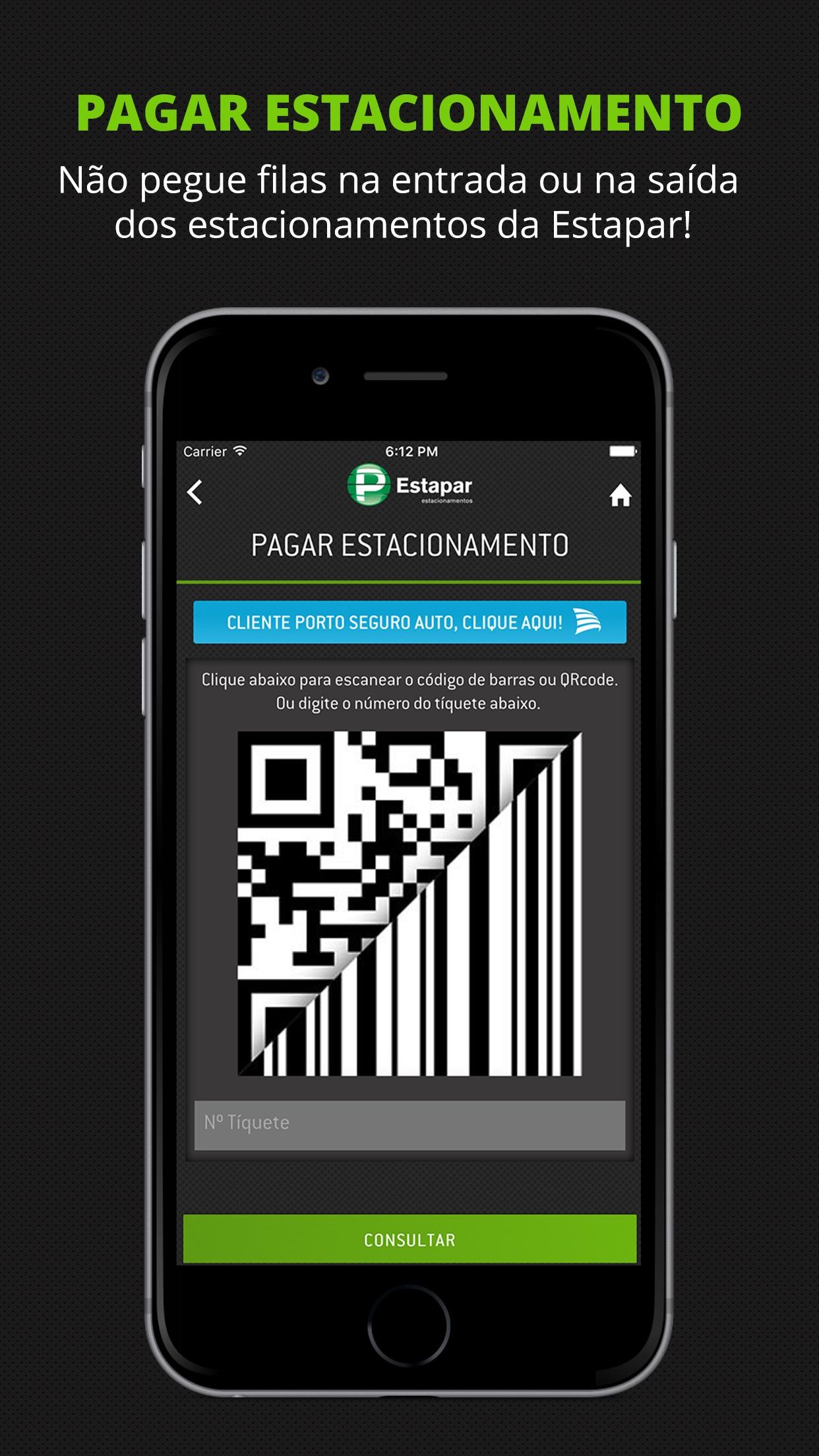 Screenshot do app Estapar - Vaga Inteligente
