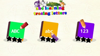 ABC Learning Tracing Letters screenshot four