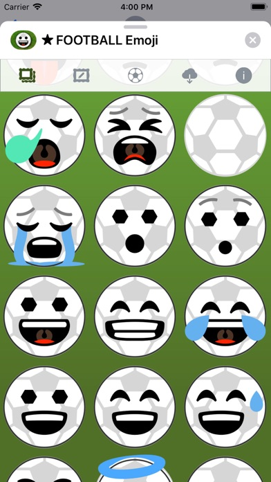 Football Emoji • Stickers screenshot 3