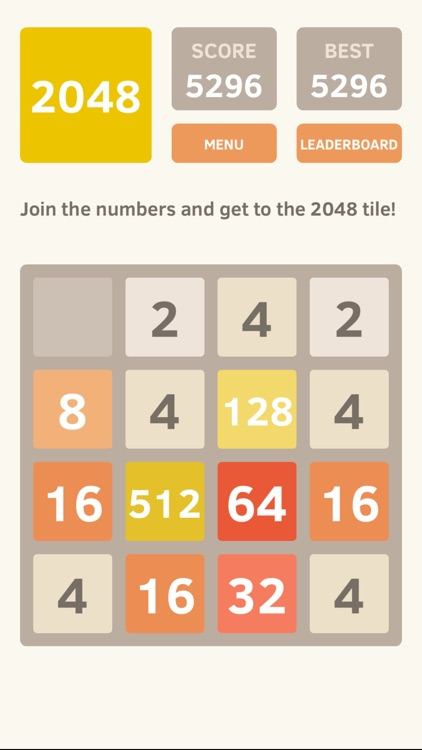 2048 screenshot-0