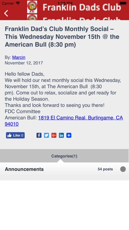 Franklin Dads Club screenshot-4