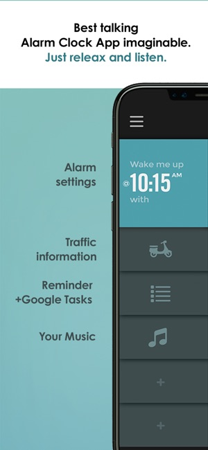 TalkClok  Talking alarm clock  on the App Store