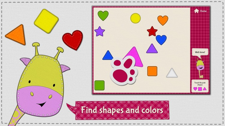 Patchimals - Shapes and colors screenshot-0