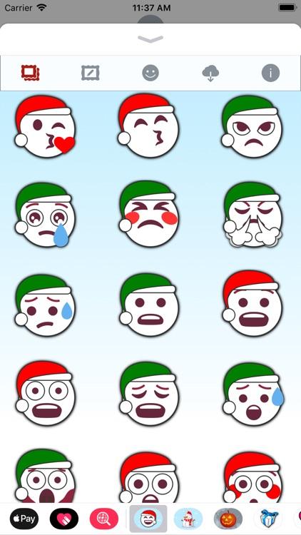 Christmas Emoji • Stickers screenshot-4