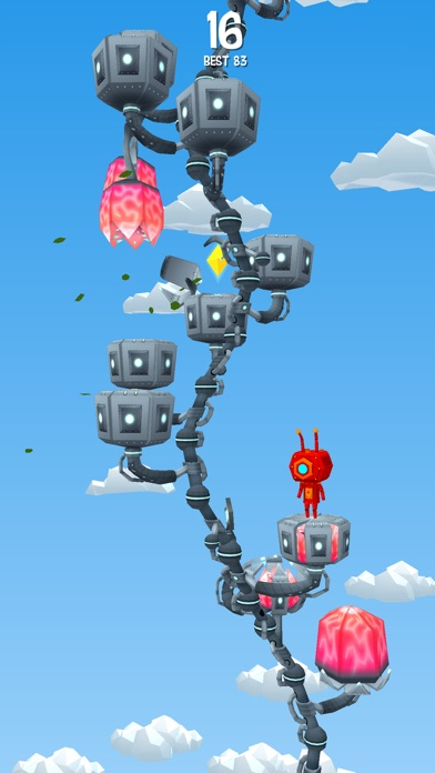 Jumpy Tree Screenshot on iOS