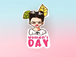 It's finally here… a Women's Days exclusive sticker