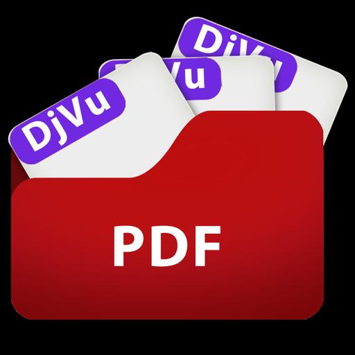 DjVu to PDF FS