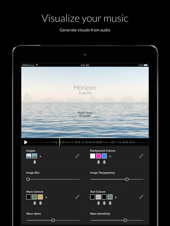 Wizibel - Audio Visualizerのおすすめ画像1