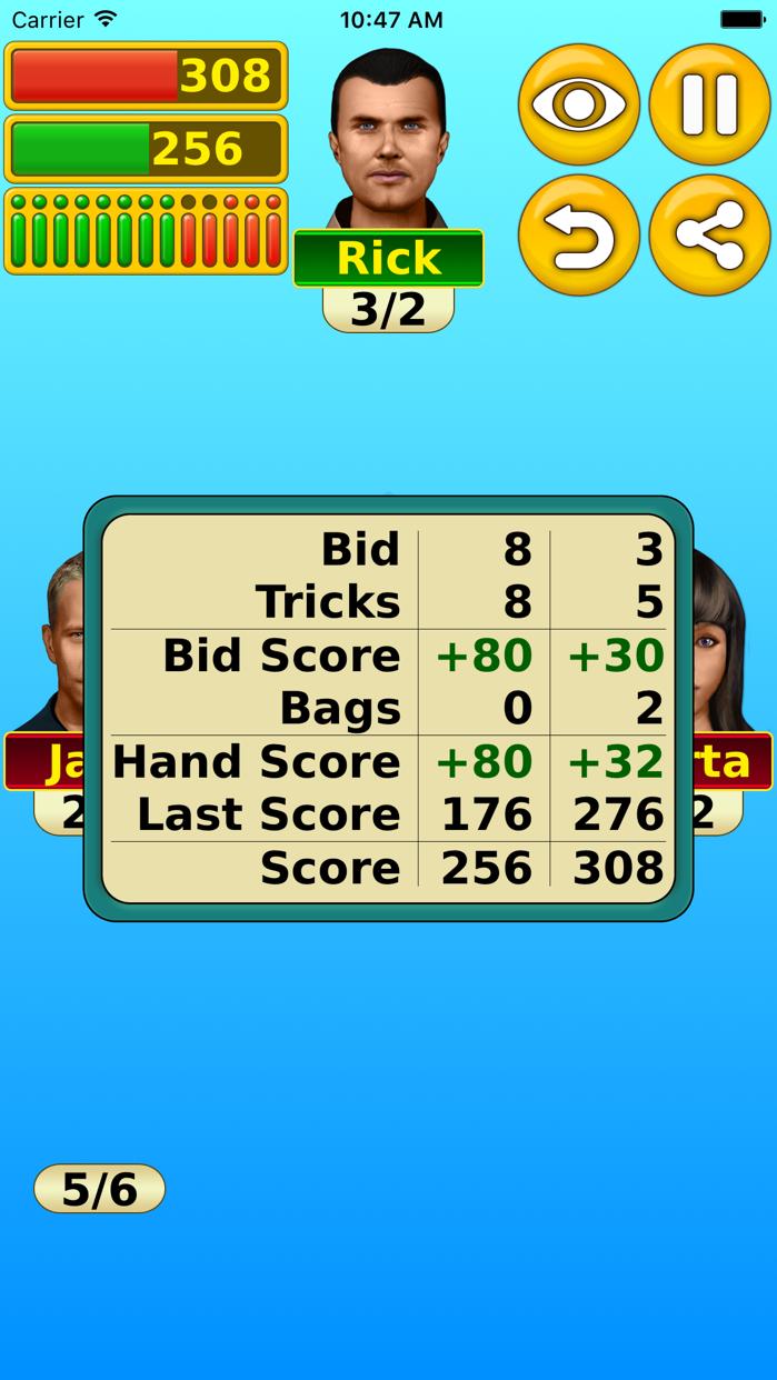 Spades - Play online & offline Screenshot
