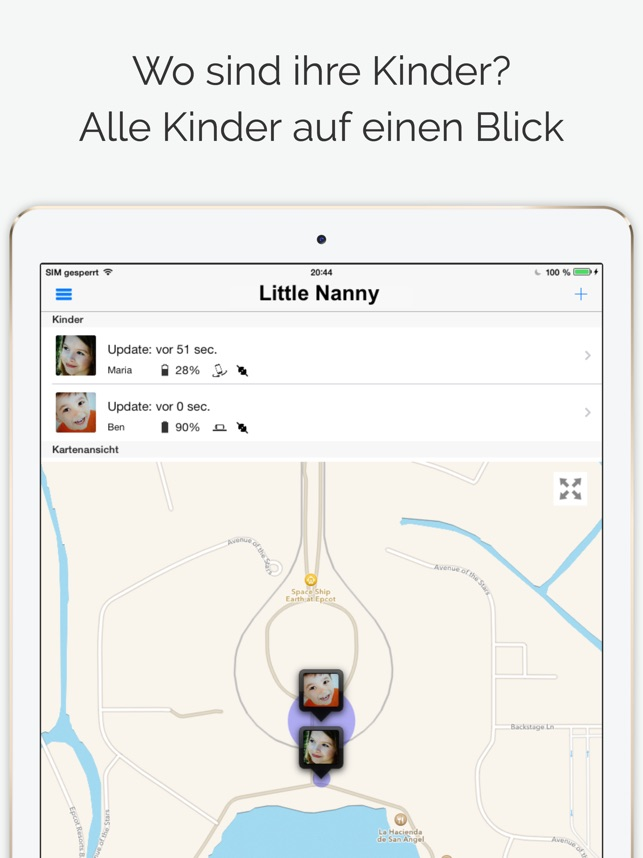 Little Nanny Kinder Tracker Screenshot