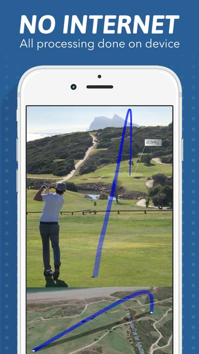Golf Shot Tracer screenshot 2