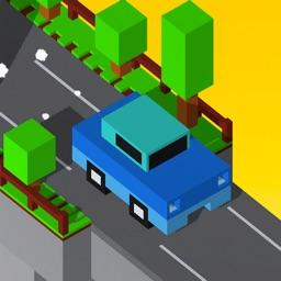 Bridge Crossing - One Tap Blocky Cars