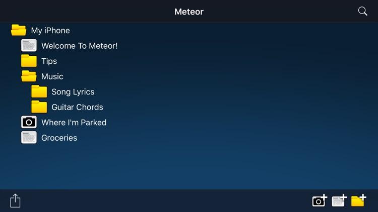 Meteor Notes screenshot-4