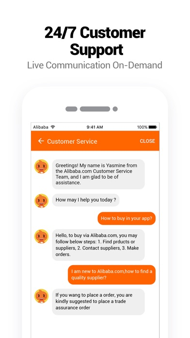 Alibabacom B2b Trade App review screenshots