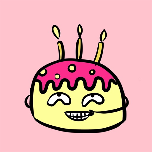 Weird Birthday Cake Emoji